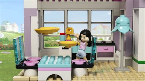 Lego Friends Bedroom by Emma S House Lego Friends 41095 Product Animation