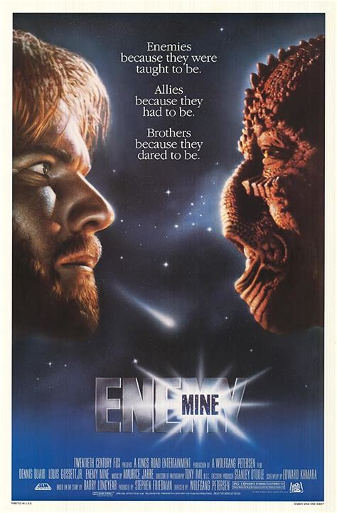 film enemy enemy mine movie posters at movie poster warehouse
