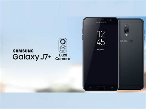 Samsung J7 Plus Black samsung galaxy j7 plus is the next samsung dual