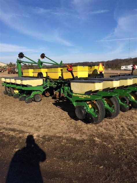 Deere Planter History by Deere 1770 16 Row Planter Bargain Billy S Late Fall
