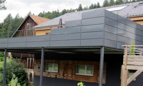 terrasse ossature métallique terrasses m 233 talliques et mezzanines en acier inox vosges