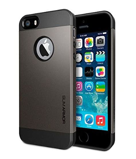 Spigen Iphone 6 4 7 Slim Armor spigen iphone 6 4 7 quot cover slim armor gun metal