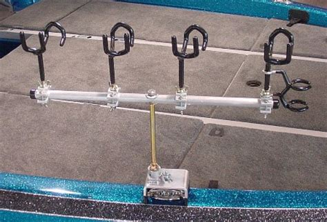 mounting rod holders on bass boat need help mounting trolling rod holders