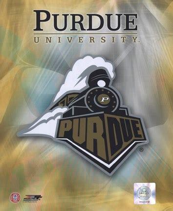purdue university logo fine art print  unknown