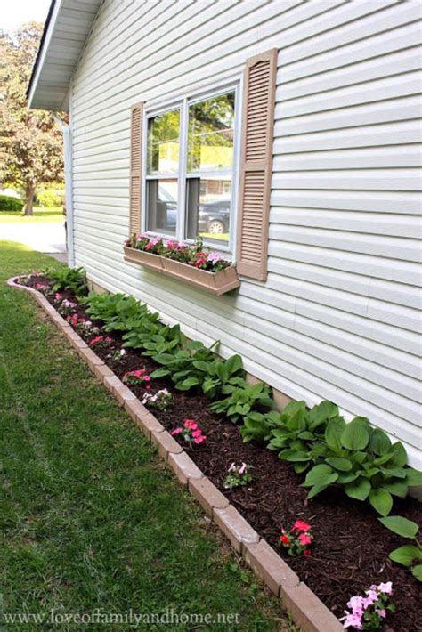 ideas for flower beds in front yard 30 amazing diy front yard landscaping ideas and garden