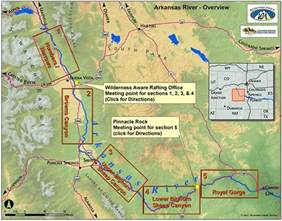 map of arkansas river in colorado rafting in colorado the ultimate guide to the arkansas river