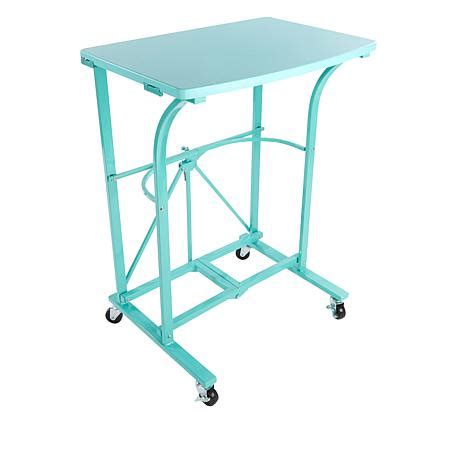Origami Folding Table - origami folding steel trolley table 8100133 hsn