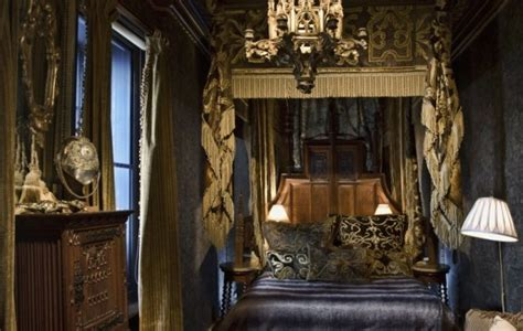 gothic style bedroom the mysterious gothic interior designs decorating design ideas