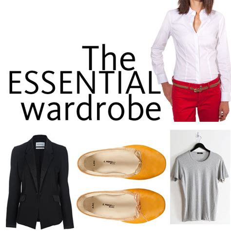 10 classic wardrobe essentials that you need for the new