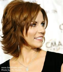 medium hairstyles flipped up short hairstyles that flip up