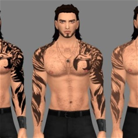 yakuza tattoo sims 4 sims 4 tattoos downloads 187 sims 4 updates