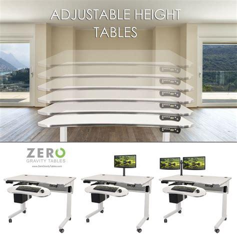 zero gravity computer desk 8 best images about adjustable height desks zero gravity
