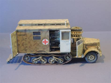 opel blitz maultier review sd kfz 3 maultier ambulance ipms usa reviews