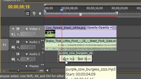 adobe premiere pro keyframes tutorial using keyframes in adobe premiere pro to adjust volume