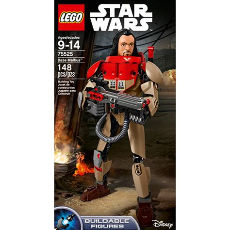 Lego Starwars Buildable Figures 75525 Baze Malbus lego wars baze malbus buildable figure smart toys