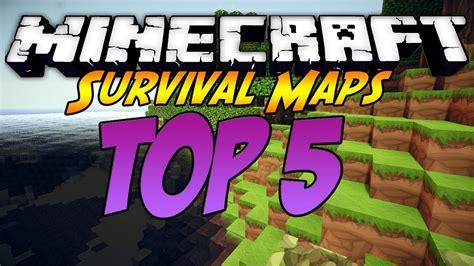 best survival maps minecraft minecraft top 5 best survival maps of all time