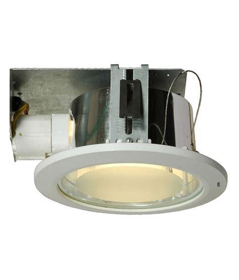 reiz white cfl h160 downlight ceiling lights buy reiz
