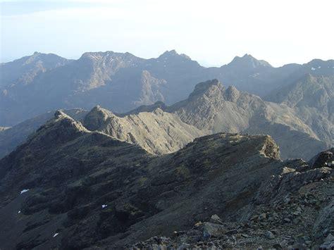 outdoor activity course skye cuillin ridge traverses