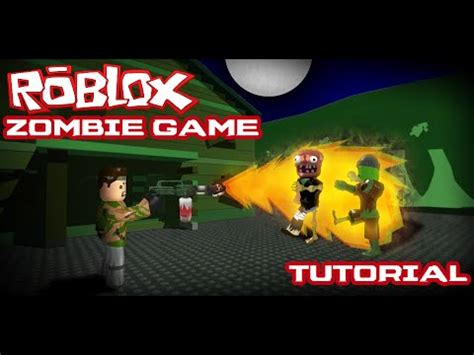 Zombie Tutorial Game | full download roblox infected script