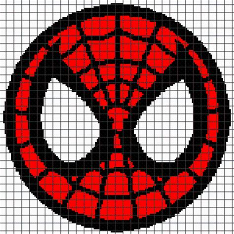 spiderman pattern pdf spiderman graphghan pattern by yarnloveaffair craftsy