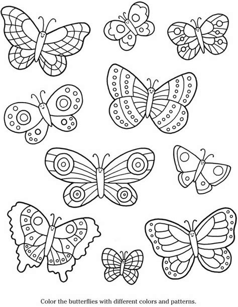 coloring pages butterfly garden butterflies to color color in with your watercolors