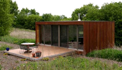 compact homes prefabs modular house weehouse prefab house design from alchemy architects