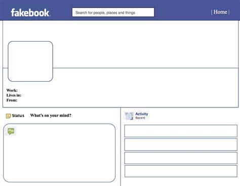 fake facebook post template word template calendar templates