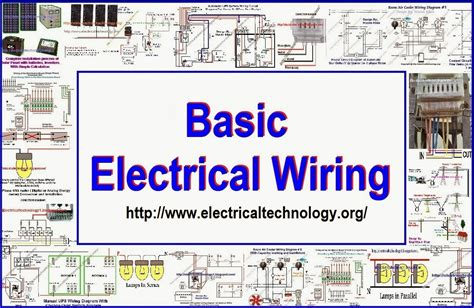 basic house wiring electrical wiring electrical technology