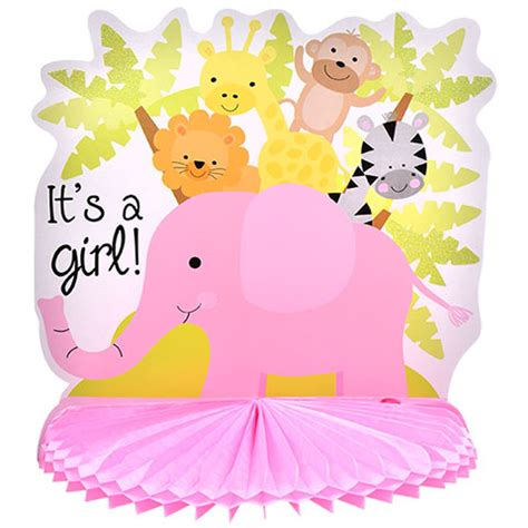 Decoration Ideas For Bedroom by Bulk Pink Its A Baby Shower Centerpieces 10 In At