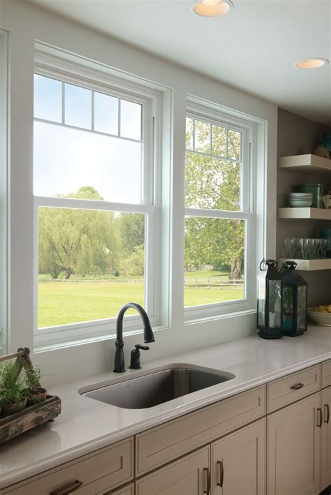 window above kitchen sink valence grids give these kitchen sink windows a