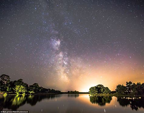 Where In The Sky Is The Meteor Shower by Stunning Images Show Shooting From Perseids Meteor