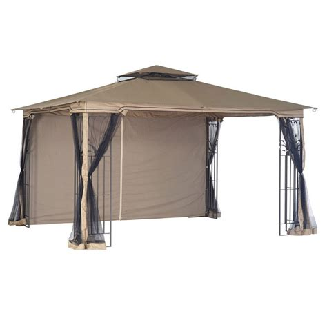 Gazebo Awning Replacement by 10x12 Gazebo Used Replacement Canopy With Side Netting Saanich