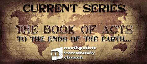 message series the book of acts guidance