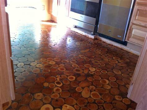 Cord Wood Floor by Cordwood Flooring By In Arizona Cordwood