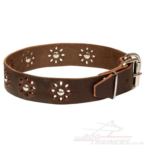 Handmade Leather Collars - handmade collars for dogs leather collars 163 38 90