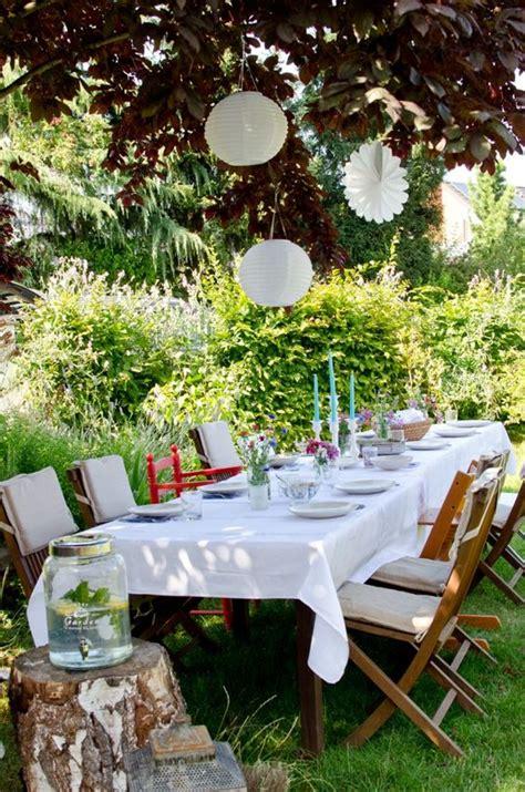 Gartenparty Deko by Deko F 252 R Die Gartenparty Mit Lions Im Sommer Wenn