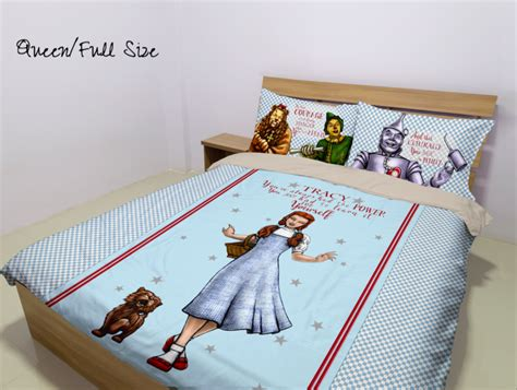 wizard of oz bedding the wizard of oz duvet personalized name duvet cover bedding set