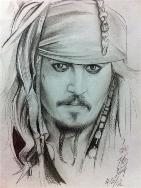 how to draw jack sparrow easy step by step characters pop culture captain jack sparrow by ppleong on deviantart