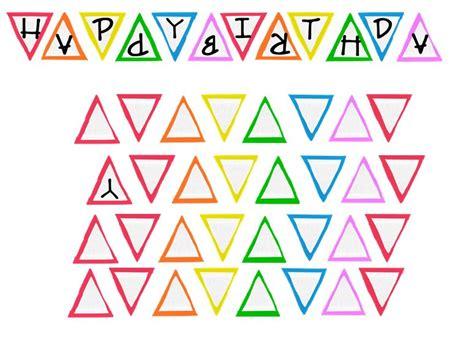 Free Printable Happy Birthday Banner Birthday Banner Template Free