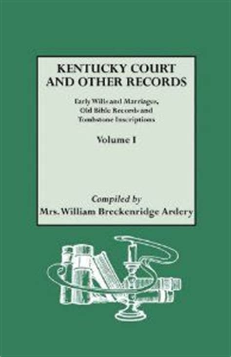 Early Kentucky Marriage Records What Will You Experience When You Visit The Ark Ark