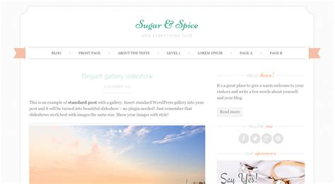 girly wordpress themes a collection of the best free feminine wordpress themes
