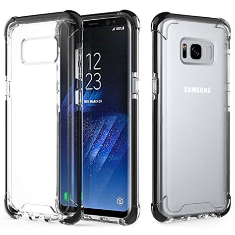 Imak Ii Hardcase Clear Samsung S8 Plus moko shock absorption tpu gel bumper with scratch resistant clear back cover for
