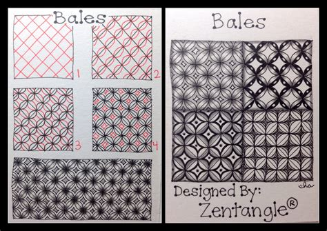 Zentangle Pattern Bales | zentangle 174 tangle pattern bales here is the last
