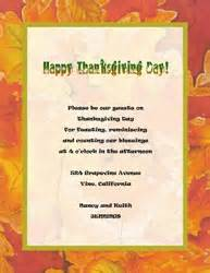 thanksgiving template word free thanksgiving cards invitations templates clip