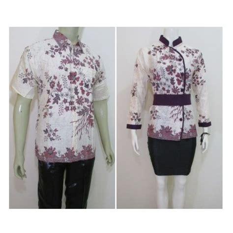 desain baju batik suami istri baju batik pasangan suami istri model terbaru online ada