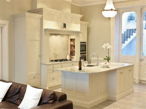 Farrow And Shaded White Kitchen Units by Enigma Design 187 Shaded White