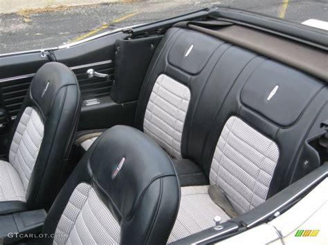 black houndstooth interior 1968 chevrolet camaro