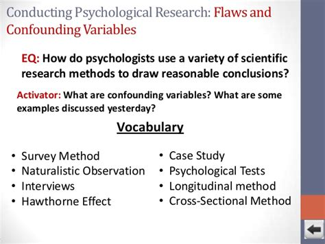 cross sectional study definition psychology unit 1 history and methods powerpoint