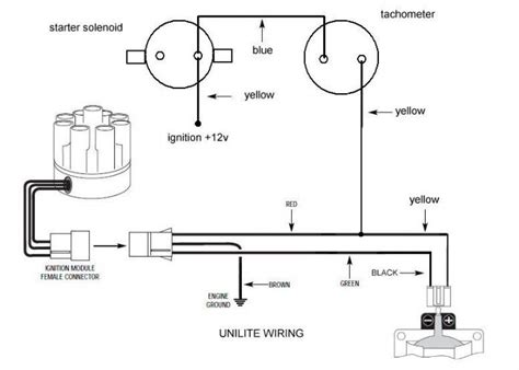 unilite distributor wiring unilite free engine image for