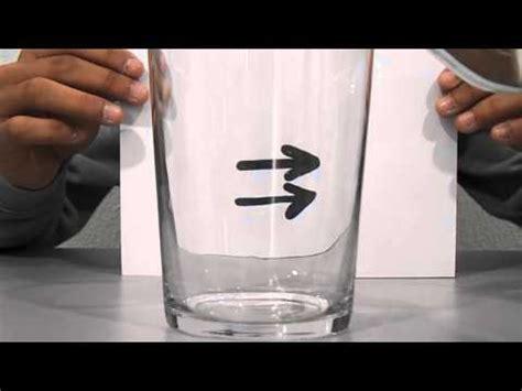ilusiones opticas refraccion ilusiones 243 pticas flechas youtube